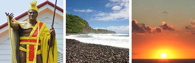 ハワイ島北部観光