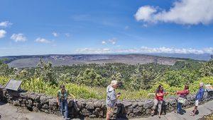 キラウエア火山 ハレマウマウ火口