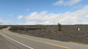 キラウエア火山 溶岩台地