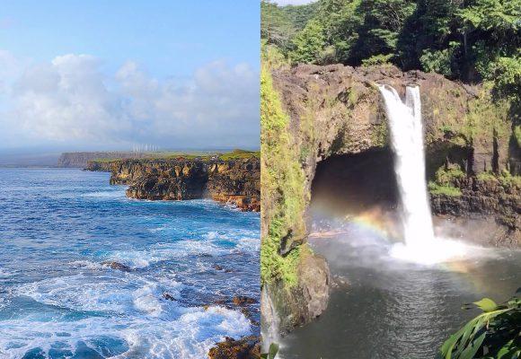 【南回り】サウスポイントへも行くハワイ島満喫ツアー