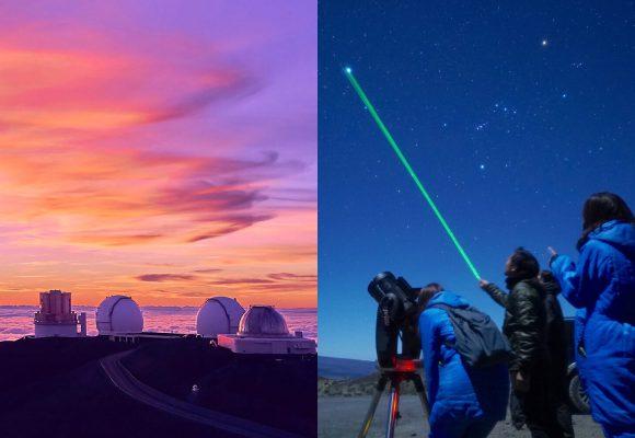 聖地マウナケア山頂・サンセット&星空観測ツアー