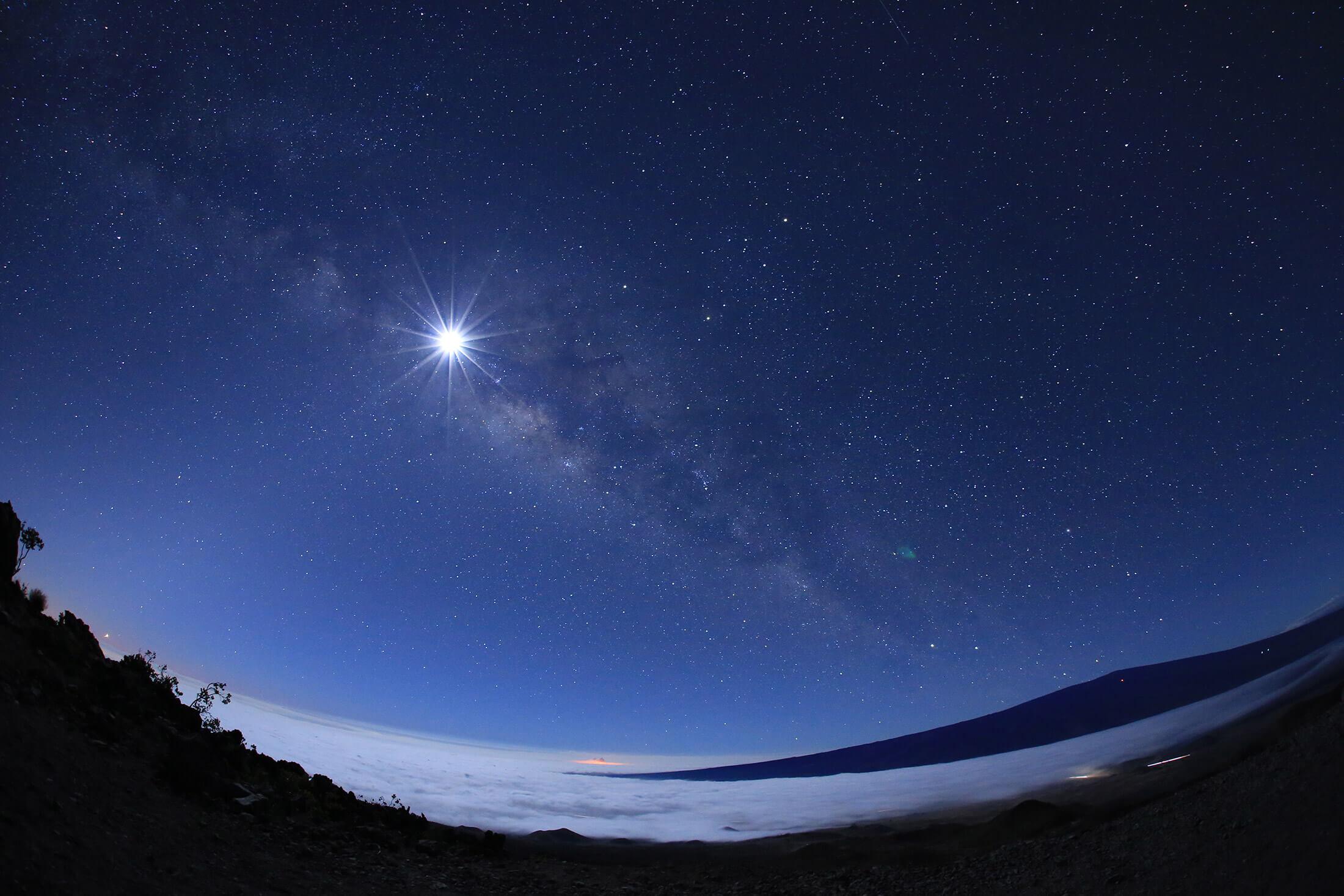 ハワイ島マウナケア星空ツアー