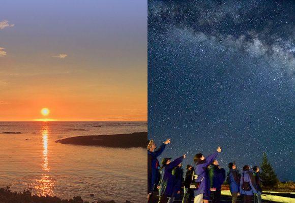 ハワイ島サンセット&星空観測ツアー