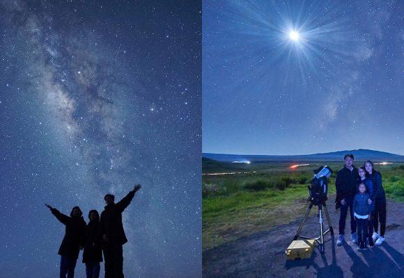 ジェームスと行こう!英語で学ぶ星空観測ツアー