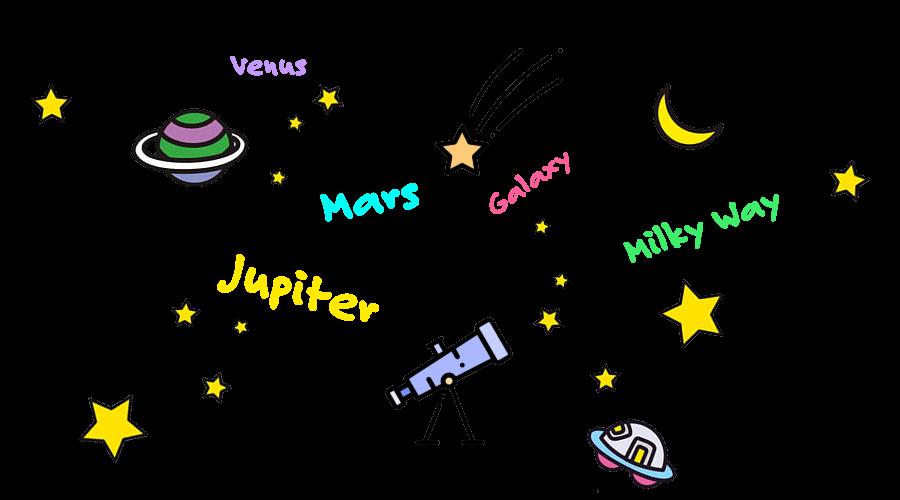 ジェームズと行こう!英語で学ぶ星空観測ツアー